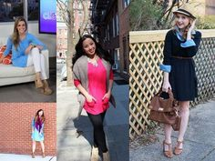 1 top 4 ways!  See how four fashion authorities styled the @Lori Goldstein #TSV