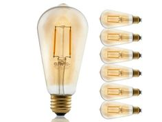 6-Pack GMY Vintage LED Light Bulbs Newegg HOT Deals Today has the lowest price deal for 6-Pack GMY Vintage LED Light Bulbs $10. It usually retails for over $17, which makes this a HOT Deal and $5 cheaper than the next best available price. Free Shipping  Dimmable Edison Incandescent Vintage...