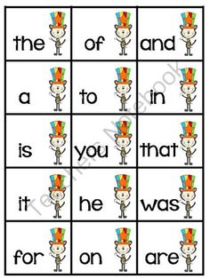 FREEBIE Frys 1st 100 Words Memory Game - February Themed from First Grade Fun Times on TeachersNotebook.com -  (14 pages)  - FREEBIE Fry's 1st 100 Words Memory Game