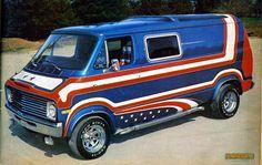 The '70s were VANtastic!!!