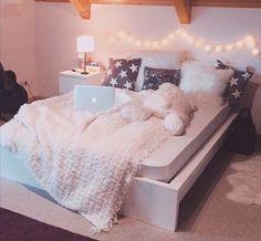 Imagen de bedroom, room, and bed