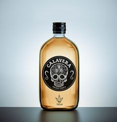 Calavera tequila. This says its organic too. Can you taste organic? Only a taste test knows for sure : ) Tequila Bottles, Liquor Bottles, Perfume Bottles, Vodka Bottle, Bottle Bottle, Bottle Packaging, Brand Packaging, Packaging Design, Product Packaging