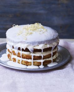 There are three whole lemons used in the cake, icing and decoration so the flavour is incredibly intense and delicious.