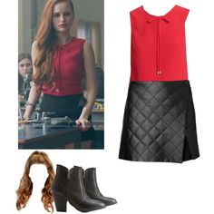 A fashion look from February 2017 featuring Witchery mini skirts, Ted Baker and Dollhouse ankle booties. Browse and shop related looks.