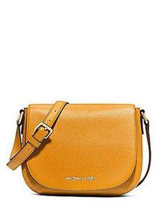 Michael Michael Kors Bedford Medium Leather Flap Messenger