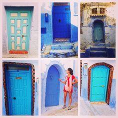 The Doors of Chefchaouen