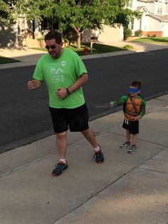 Our VP of Branches, Joe, won't let a ninja turtle attack stop him from logging miles for the #MiracleMarathon!  Help us raise money for Children's Hospital Colorado at: www.miraclemarathon.org/participant/denvercommunity