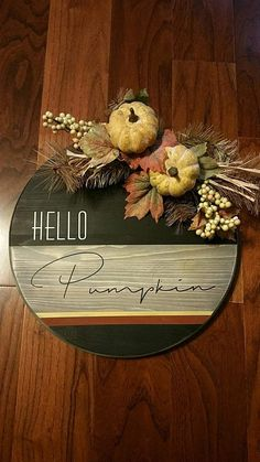Update on the usual pumpkin decor. Love this! Fall Halloween, Halloween Crafts, Halloween Decorations, Autumn Decorating, Pumpkin Decorating, Fall Crafts, Diy Crafts, Fall Craft Fairs, Fall Projects