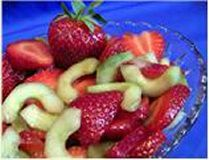 HCG Diet Recipes - Cucumber Strawberry Salad