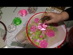 Embroidery ribbons, Lesson 1 HD - YouTube