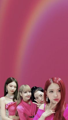 Kpop Girl Groups, Korean Girl Groups, Kpop Girls, Yg Entertainment, Pink Walpaper, K Pop, Lisa Blackpink Wallpaper, Black Pink Kpop, Blackpink Photos