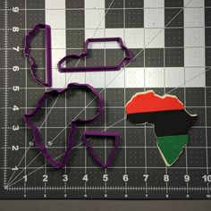 Kwanzaa Africa Cookie Cutter Set by KatoBakingSupplies on Etsy https://www.etsy.com/listing/478851955/kwanzaa-africa-cookie-cutter-set