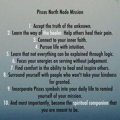 true node astrology pisces