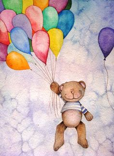 Bear & Balloons
