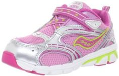 Saucony Blaze Running Shoe (Little Kid) Saucony. $39.95. Made in China. Leather and mesh. Rubber sole
