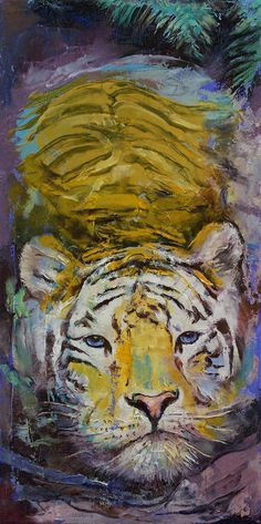 SUPERB BENGAL TIGER #11 QUALITY CANVAS WILDLIFE PICTURE WALL ART A1