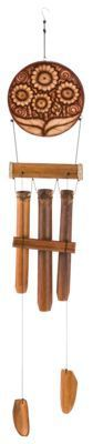 Cohasset Sunflower Bamboo Wind Chime