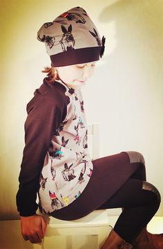 ♥ Luusmeitlifashion ♥ Schnittmuster Bethioua Teens Nähen DIY http://muggelchens-kuschelwear.blogspot.ch/2015/11/Bethioua.html