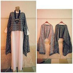 Batik Fashion, Abaya Fashion, Muslim Fashion, Diy Fashion, Fashion Dresses, Womens Fashion, Kebaya Hijab, Batik Kebaya, Kebaya Dress