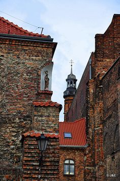 Gdansk Old Town, Poland.