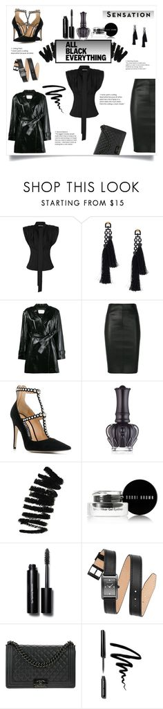 """""""Untitled #608"""" by natasharadmilovic78 ❤ liked on Polyvore featuring Jacquemus, Vivienne Westwood, Theyskens' Theory, Drome, Sergio Rossi, Vision, Anna Sui, Bobbi Brown Cosmetics, Rebecca Minkoff and Chanel"""