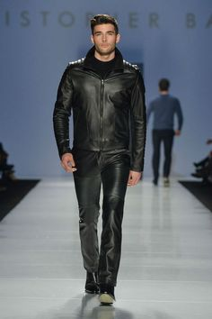 guys in leather pants. : Photo