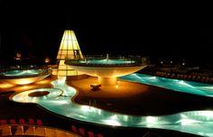 Aqua Dome is a stunning wellness hotel located in Tyrol, Austria.
