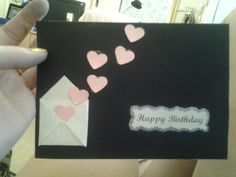 Birthday card for a loved one
