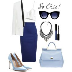 """""""So chic!"""" by justvel on Polyvore"""