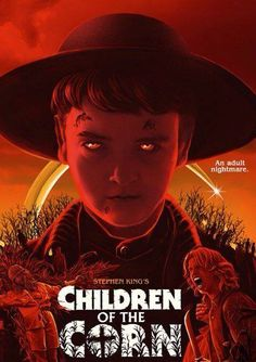 Horror Movie Poster Art : Children Of The Corn 1984 by Gary Pullin