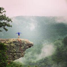 Whitaker Point Trail in Arkansas