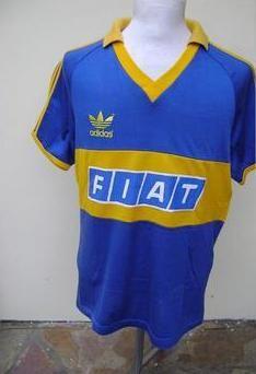 Boca Juniors Home football shirt 1989 40ab33124e1e7