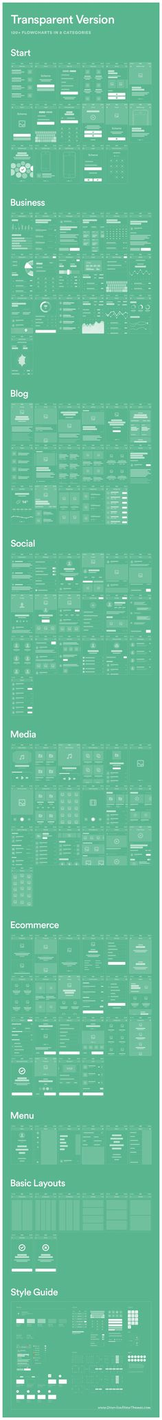 Scheme Mobile #Flowcharts is a huge pack of #UX layouts for mobile #prototyping consist 120+ flowcharts in 8 categories download now..