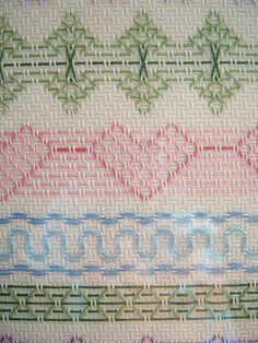 Huck Weaving Christmas Patterns | stitchonitdirect.com