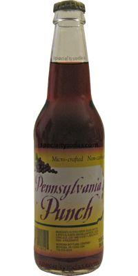 Red Ribbon: Pennsylvania Punch   #soda #pennsylvania #punch