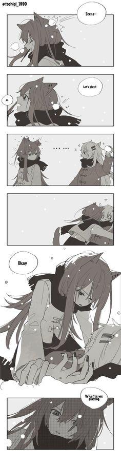 Anime Girl Neko, Yuri Anime, Anime Art, Loli Kawaii, Kawaii Anime, Anime Monsters, Anime Couples Drawings, Pretty Anime Girl, Anime Animals