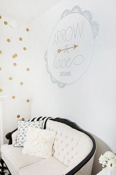 Arrow & Lace Designs office tour