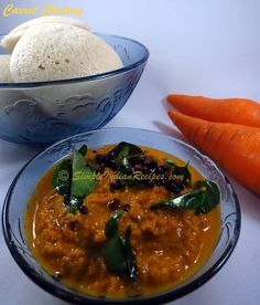 Carrot Chutney: A tasty chutney that can be served with rice, roti, idli or dosa. Even people who are not big fans of carrot, love this dish. We all know the health benefits of carrot and carrot is an ever present vegetable in most homes. So why wait?? Make this carrot chutney for your next meal. Check out the recipes @ http://simpleindianrecipes.com/Home/Carrot-Chutney.aspx
