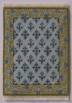 free mini rug chart