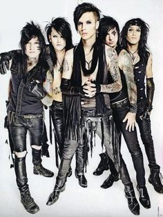 Black Veil Brides is my favorite band. They are amazing. They have taught me more than school will ever amount to since the first day I first heard them:)