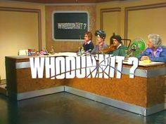 'Who Done It' 1970s tv show UK