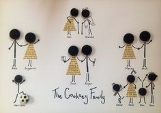 Personalised Button Family Tree Picture Wedding Birthday Anniversary Occasion | eBay
