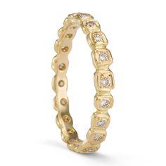 18K Yellow Gold -2 ring by Saitomi Kawakita