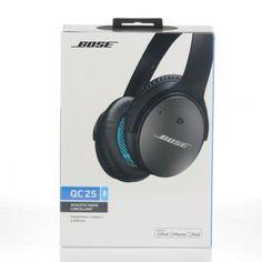 B0SE QuietComfort 25 Casque à réduction de bruit - Noir (Version IOS)