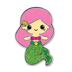 Charmit Mermaid Sticker Charm - $5.00
