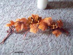 liście z bibuły marszczonej odpowiednie na jesienną porę roku