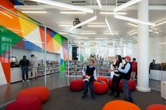 2014 Library Interior Design Award Winners : Image Galleries : ALA/IIDA Library Interior Design Awards : IIDA