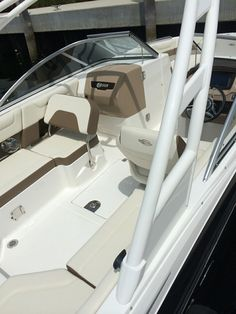 New for 2015, Chaparral Deck Boats! Sweet!