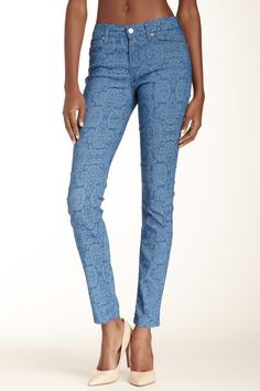 Gwenevere Damask Skinny Jean by 7 For All Mankind on @nordstrom_rack