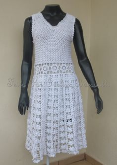 1000+ images about Crochet Adult Dresses on Pinterest ...